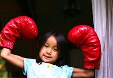 boxning royaltyfri foto