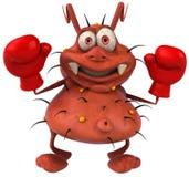 boxningbakterie Arkivbilder