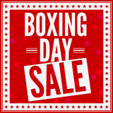 boxningdagförsäljning Royaltyfri Bild