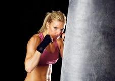 boxninggenomkörare Arkivbild