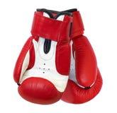 boxninghandskar två Royaltyfria Bilder