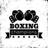 Boxninglogo Royaltyfri Fotografi