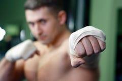 boxningmän Fotografering för Bildbyråer