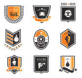 Boxningsymboler Arkivbilder