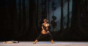 "Boxningvarm-upp-Peking opera som ""Taking Tiger Montain By Strategyâ € Arkivbilder"