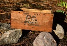 Boxold динамита порошка атласа стоковое фото