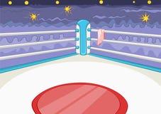 Boxring Lizenzfreies Stockfoto