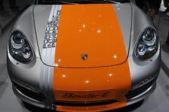Boxster della Porsche su 64rd IAA Immagini Stock Libere da Diritti