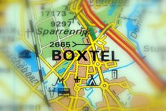 Boxtel, Pays-Bas - l'Europe Photo stock