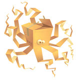 Boxtopus, isolated Stock Images