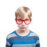 Boy's-Porträt Stockbild