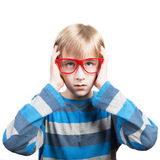 Boy's portrait Stock Image