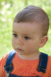 Boy. Closeup portrait of adorable  boy Royalty Free Stock Images