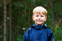 The Boy. Closeup portrait of a little smiling boy Stock Photos