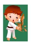The boy stock illustration