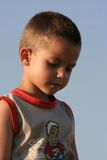 Boy. Sad boy Stock Image