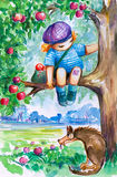 Boy royalty free illustration