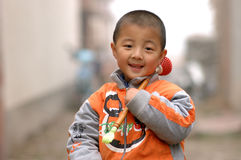 Boy. China a happy little boy Royalty Free Stock Photos