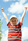 The boy Royalty Free Stock Photo