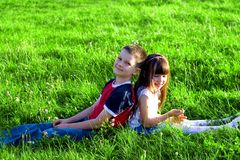 Free Boy And Girl Stock Photography - 1305642