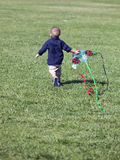 Boy And Kite Royalty Free Stock Photography