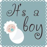 It is a boy Royalty Free Stock Image