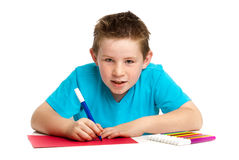 Boy Artist Stock Photography