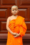 A boy as buddhist novice asia Stock Image