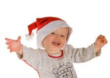 Boy as santa clause Stock Photos