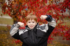 The Boy athlete Royalty Free Stock Images