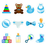 Boy baby object Stock Image