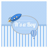It is a boy Stock Photography
