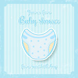 Boy baby shower Royalty Free Stock Images