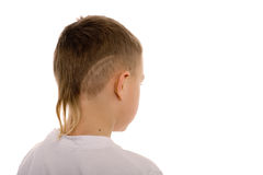Boy from the back Royalty Free Stock Images