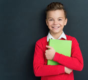 Boy back to school Royalty Free Stock Photo