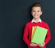 Boy back to school Royalty Free Stock Photo