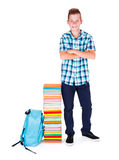 Boy Back to School Royalty Free Stock Images