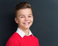 Boy back to school Royalty Free Stock Photography