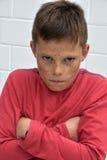 Boy  in bad mood Royalty Free Stock Photo