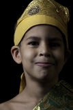 Boy in Balinese costume Royalty Free Stock Photography