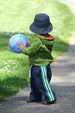 Boy with Ball Royalty Free Stock Photography