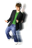 Boy band dancer Royalty Free Stock Photo