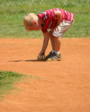 Boy with baseball Stock Photos