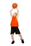 Boy -  basketball player Royalty Free Stock Photos