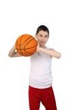 Boy basketball player Stock Photos