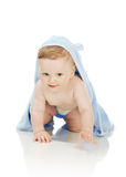 The boy after bathing Royalty Free Stock Photo
