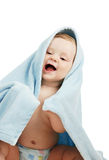The boy after bathing Royalty Free Stock Images