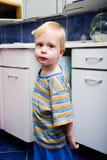 Boy in bathroom 1 Stock Photo