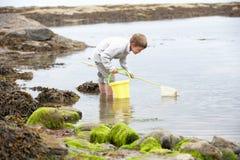 Boy on beach Royalty Free Stock Photography