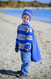 Boy at beach Royalty Free Stock Photo
